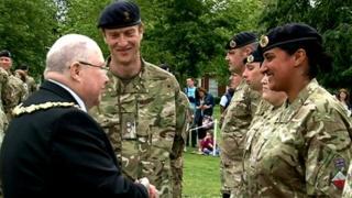 75 Engineer Regiment honoured in Warrington