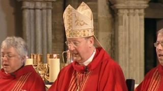 Retiring Bishop of Exeter Michael Langrish