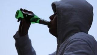 Teen drinker
