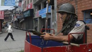 Kashmir shutdown on 1 July 2013