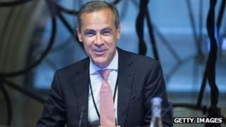 Mark Carney, governor of the Bank Of England, attends a monetary policy committee (MPC) briefing on his first day inside the central bank's headquarters