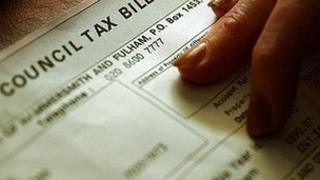 Generic image of a council tax bill