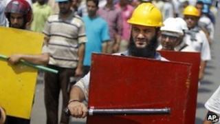 Supporter of President Mohammed Morsi in Cairo (2 July 2013)