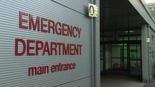 Emergency department entrance