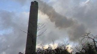 Inverkip chimney