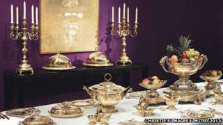 Maharaja of Patiala's dinner set