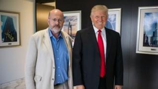 John Sweeny and Donald Trump