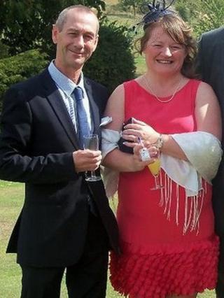 Ray and Karen Cottam