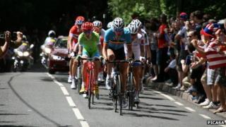 Surrey road cycle race