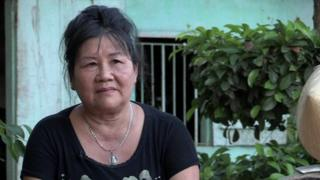Mrs Phin, a pensioner from a Hanoi suburb