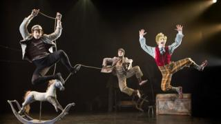The Royal Opera House production of Wind in the Willows