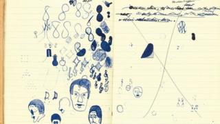Samuel Beckett's manuscript for Murphy