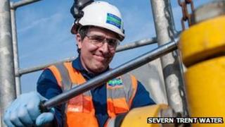 Severn Trent Water engineer