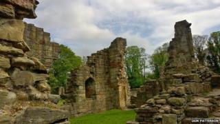 Basingwerk Abbey, Greenfield