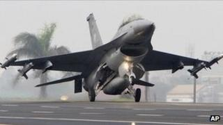 An F-16 fighter jet. File image