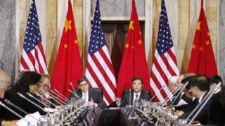 Chinese and US officials have been discussing bilateral issues in Washington