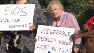 Sandwell protest