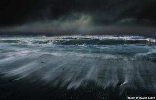Beach by David Baker
