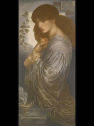 Proserpine, by Dante Gabriel Rossetti (1880)