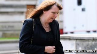 Julie Richards (Pic: Wales News Service)