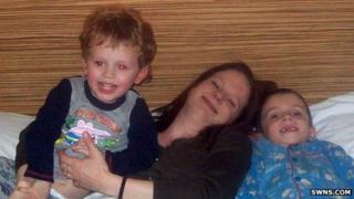 Joshua, Katherine Hooper and Samuel