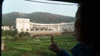 Tang Hui points out Zhuzhou Baimalong Labour Camp