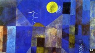 Ohne Titel, (Without Title) by Paul Klee