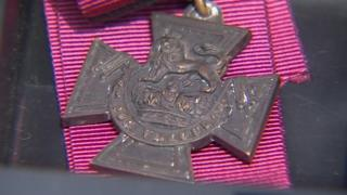 Victoria Cross awarded to Pte Herbert Columbine