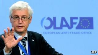 Olaf anti-fraud chief Giovanni Kessler