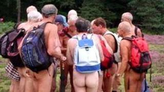 Naked ramblers