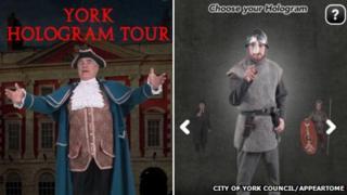 York Hologram Tour