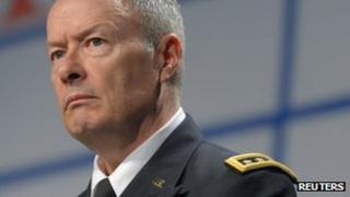 NSA boss General Keith Alexander