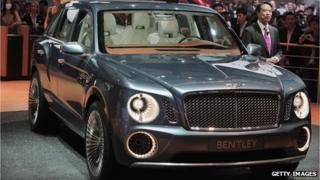 Bentley EXP 9F concept car
