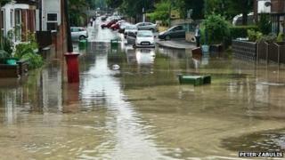 Flooding in Sherwood