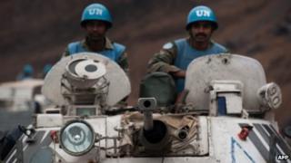 UN troops in DR Congo