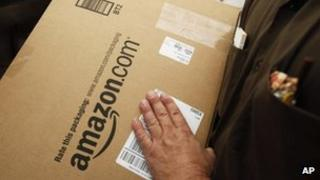 Amazon package
