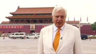 John Simpson in China