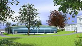 Plan of new pool