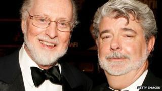 John Williams and George Lucas