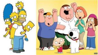 The Simpsons and Family Guy