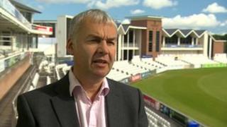 Durham County Cricket Club chief executive David Harker