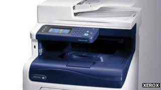 Xerox multifunction machine
