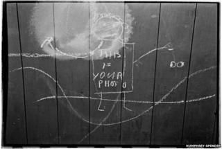 Childrens Graffiti, April 1938