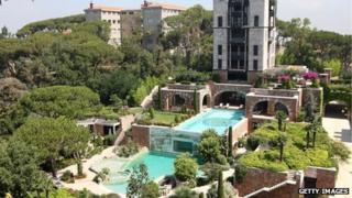 The Grand Hills Hotel in Broummana, Lebanon