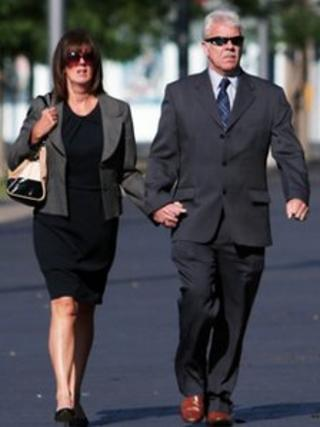 Lesley and Andrew Reeve at Teesside Crown Court
