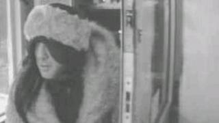 Vasile Bogdan dressed as a woman