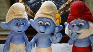 Still from The Smurfs 2