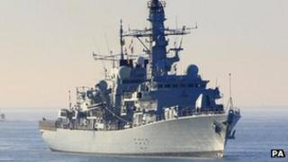 File picture of HMS Westminster