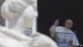 Pope Francis Angelus blessing 11/8/13
