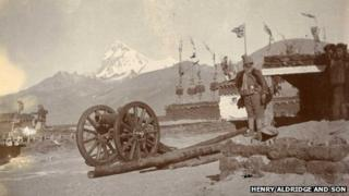 Photo from Colonel Francis Younghusband's 1904 expedition into Tibet